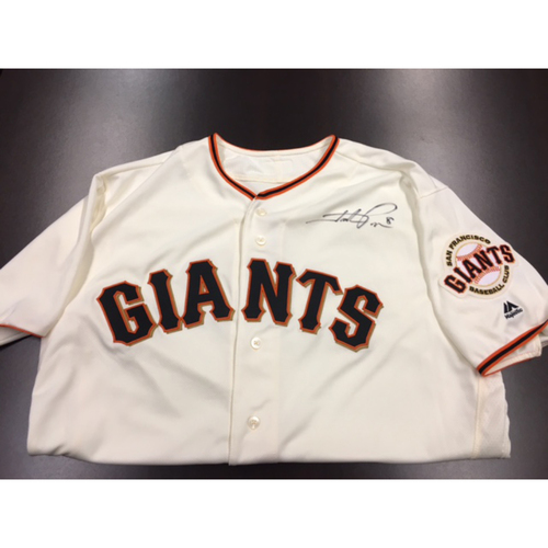 Photo of Giants End of Year Auction: Hunter Pence Autographed Jersey