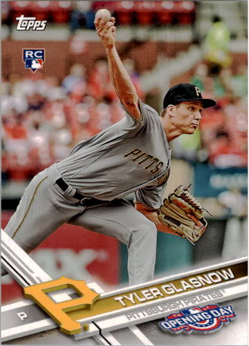 Photo of 2017 Topps Opening Day #108 Tyler Glasnow RC