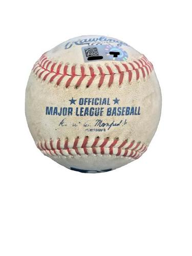 Photo of Game-Used Baseball from Pirates vs. Rockies on 6/13/17 - Rivero to Story, RBI Single
