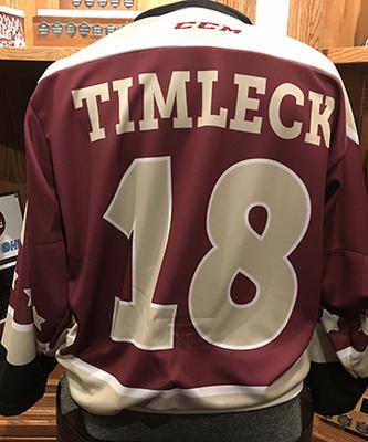Adam Timleck (#18) - Game-Worn Petes Alumni Homecoming Jersey