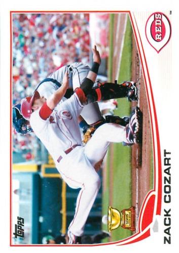 Photo of 2013 Topps #202 Zack Cozart
