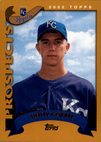Photo of 2002 Topps #673 Jimmy Gobble PROS RC