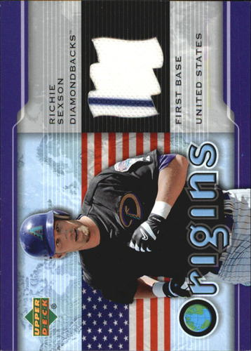 Photo of 2005 Upper Deck Origins Jersey #RS Richie Sexson