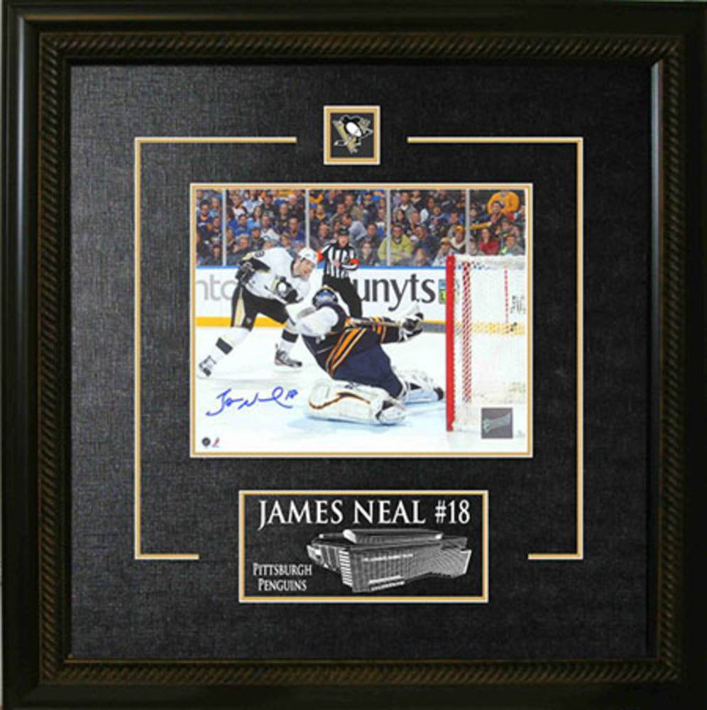 James Neal Signed Framed 8x10