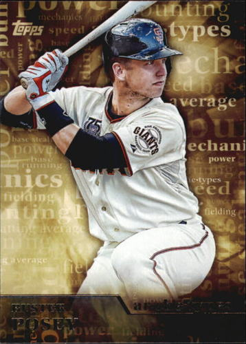 Photo of 2015 Topps Archetypes #A9 Buster Posey