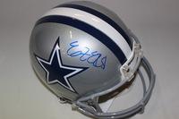 NFL - COWBOYS EZEKIEL ELLIOTT SIGNED COWBOYS PROLINE HELMET