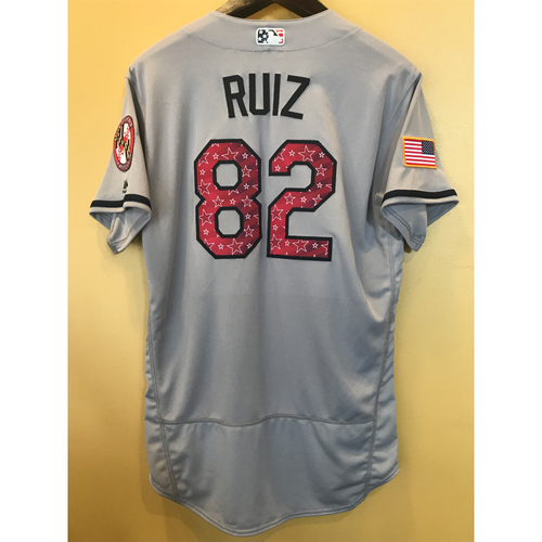 Photo of Jett Ruiz - 2017 4th of July Road Jersey: Game-Used