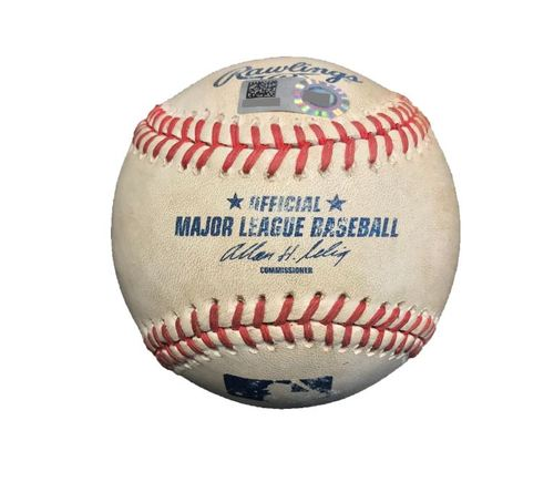 Game-Used Baseball from Pirates vs. Cubs on 9/14/14 - Neil Walker RBI Double