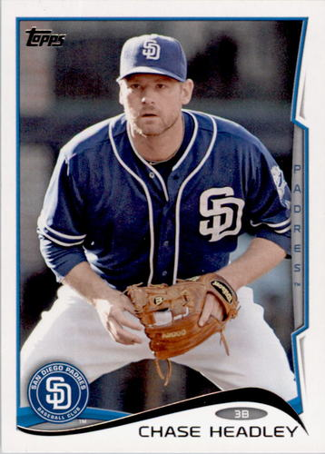 Photo of 2014 Topps #417 Chase Headley