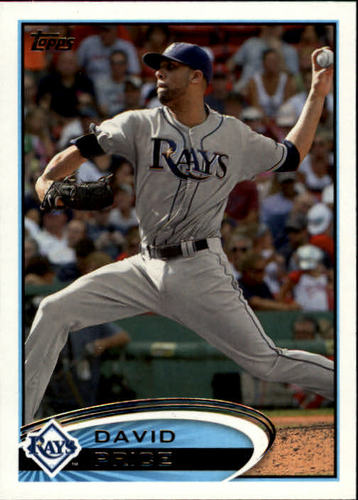 Photo of 2012 Topps #80A David Price