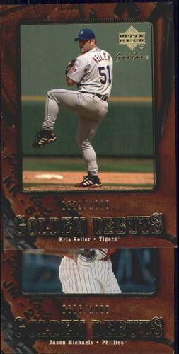 Photo of 2001 Upper Deck Gold Glove #110 Kris Keller GD RC