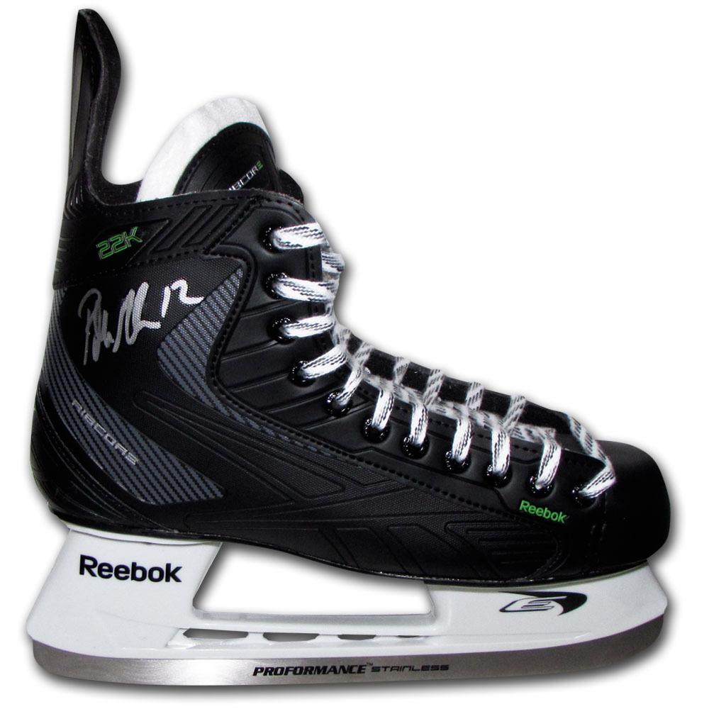 Patrick Marleau Autographed Reebok Hockey Skate (San Jose Sharks)