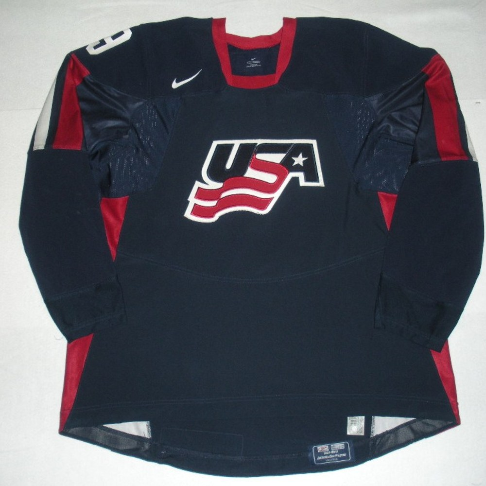 Bobby Ryan - 2006 U.S. IIHF World Junior Championship - Game-Worn Jersey