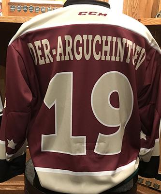 Semyon Der-Arguchintsev (#19) - Game-Worn Petes Alumni Homecoming Jersey
