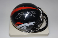 NFL - DJ WILLIAMS SIGNED MINI HELMET