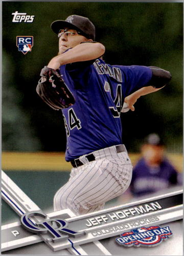 Photo of 2017 Topps Opening Day #136 Jeff Hoffman RC