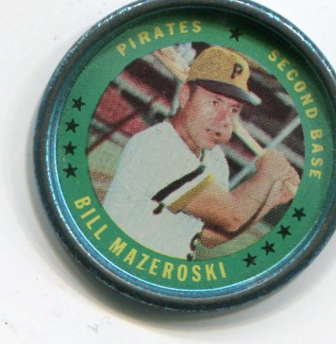 Photo of 1971 Topps Coins #15 Bill Mazeroski