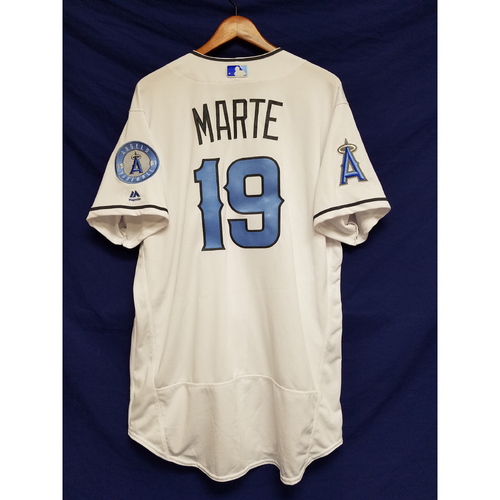 Photo of Jefry Marte Team-Issued Blue Fathers Day Jersey