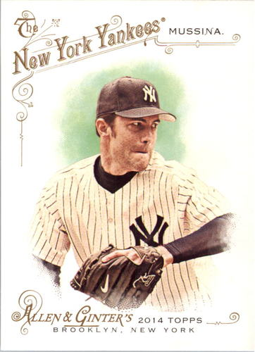 Photo of 2014 Topps Allen and Ginter #312 Mike Mussina SP