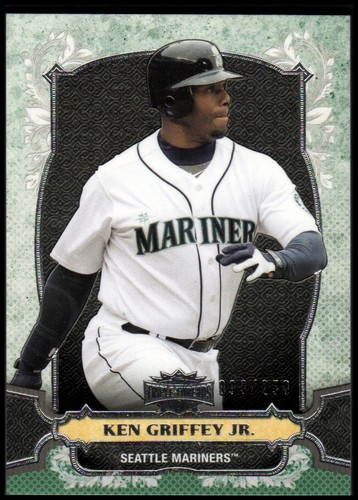 Photo of 2014 Topps Triple Threads Emerald #100 Ken Griffey Jr.