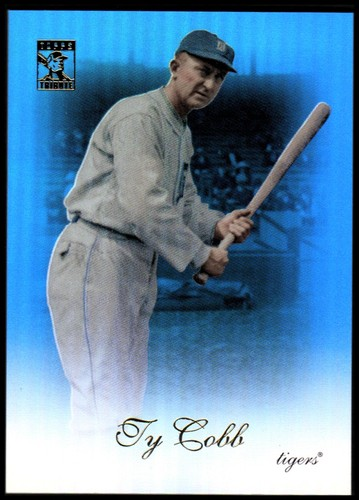 Photo of 2009 Topps Tribute Blue #41 Ty Cobb
