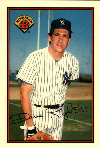 Photo of 1989 Bowman Tiffany #167 Dave Righetti