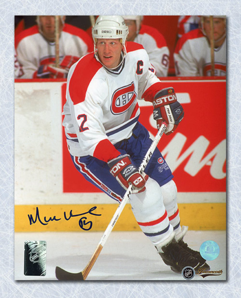 Mike Keane Montreal Canadiens Autographed Captain 8x10 Photo
