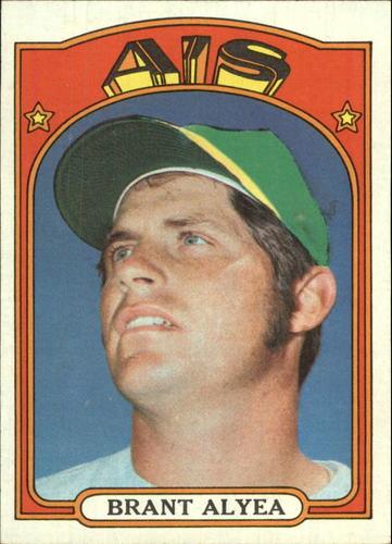 Photo of 1972 Topps #383 Brant Alyea
