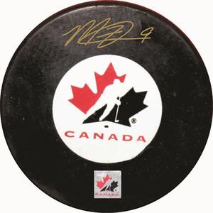 Matt Duchene - Signed Team Canada Logo Puck - CANADA DAY SPECIAL