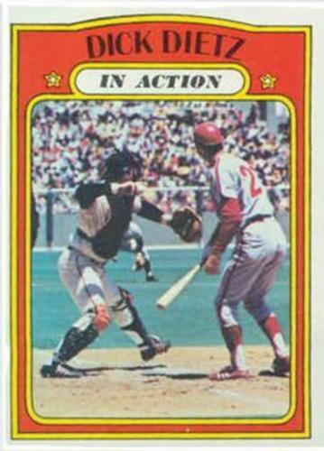 Photo of 1972 Topps #296 Dick Dietz IA
