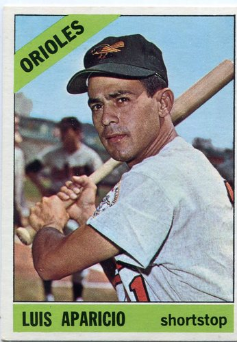 Photo of 1966 Topps #90 Luis Aparicio -- Orioles Hall of Famer