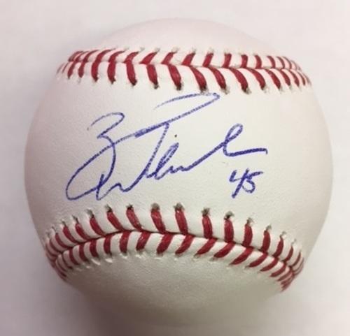 Photo of Zack Wheeler Autographed Baseball