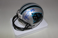 PANTHERS - VERNON BUTLER SIGNED PANTHERS MINI HELMET
