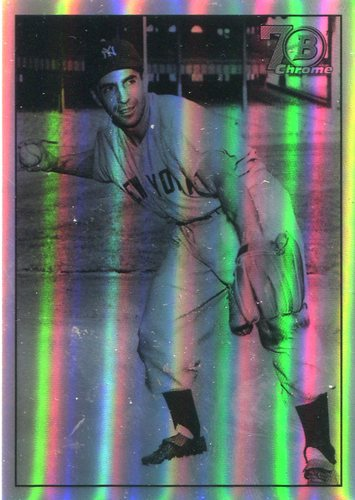 Photo of 2017 Bowman Chrome '48 Bowman Refractors #48BPR Phil Rizzuto