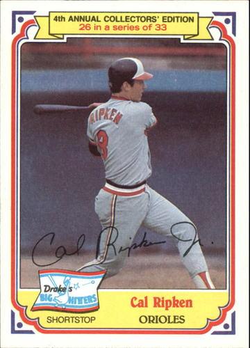 Photo of 1984 Drake's #26 Cal Ripken