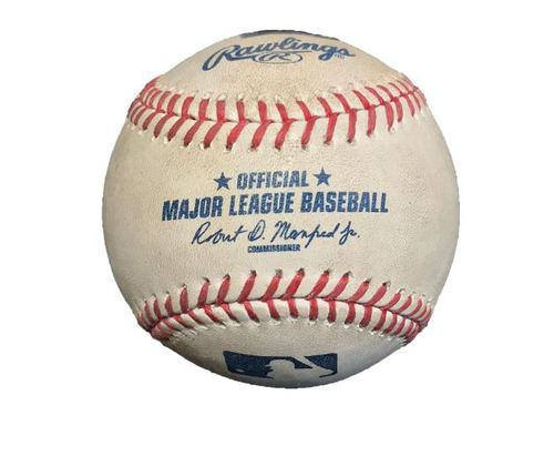 Game-Used Baseball from Pirates vs. Diamondbacks on 8/19/15 - Sean Rodriguez RBI Single