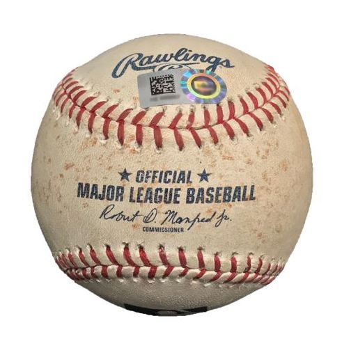 Photo of Game-Used Baseball from Pirates vs. Nationals on 7/24/15 - Andrew McCutchen Single