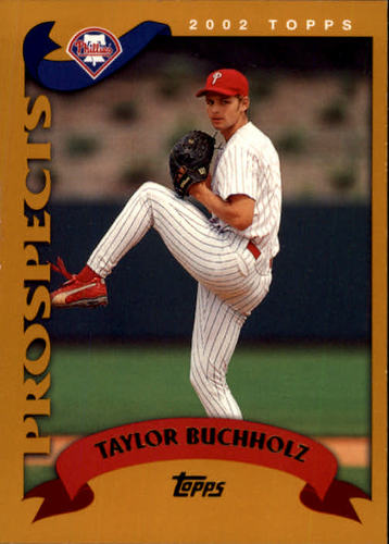 Photo of 2002 Topps #675 Taylor Buchholz PROS RC