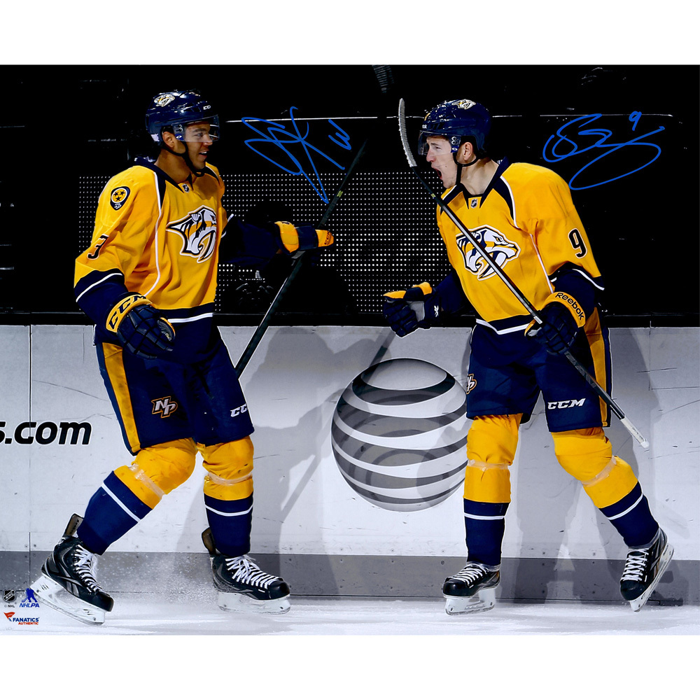 Filip Forsberg & Seth Jones Nashville Predators Autographed 16