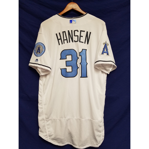 Photo of Dave Hansen Team-Issued Blue Fathers Day Jersey