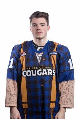 MASER, Josh (#11) - Autographed, Game Worn Lumberjack Jersey