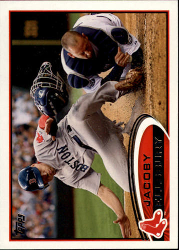 Photo of 2012 Topps #170 Jacoby Ellsbury