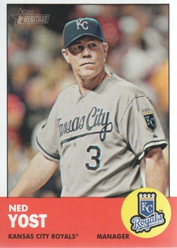 Photo of 2012 Topps Heritage #23 Ned Yost MG