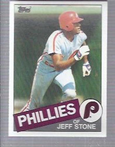 Photo of 1985 Topps #476 Jeff Stone RC