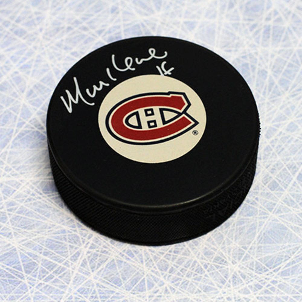 Mike Keane Montreal Canadiens Autographed Hockey Puck