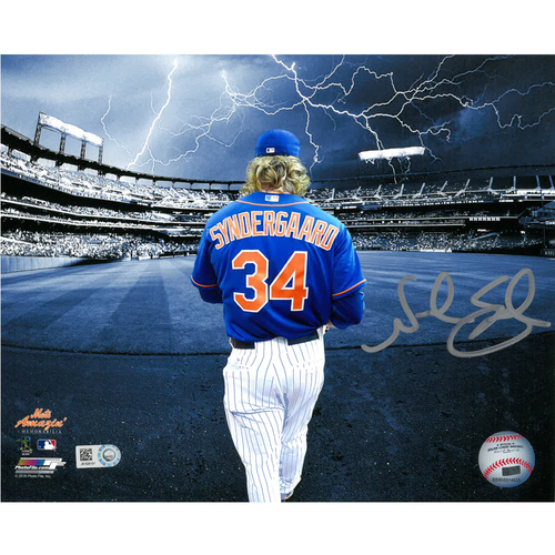 Photo of Noah Syndergaard - Autographed 16X20 Photo