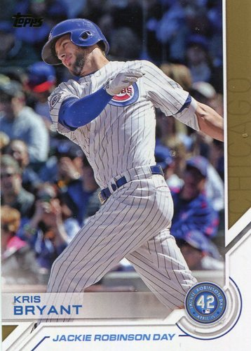 Photo of 2017 Topps Jackie Robinson Day #JRD21 Kris Bryant