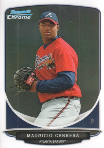 Photo of 2013 Bowman Chrome Prospects #BCP114 Mauricio Cabrera