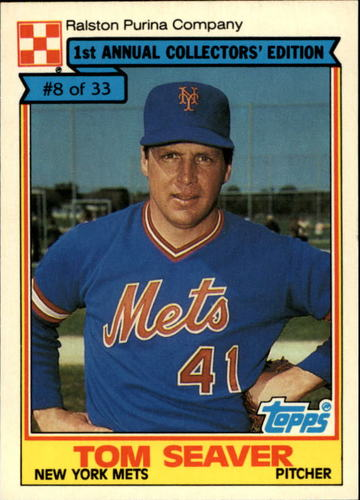 Photo of 1984 Ralston Purina #8 Tom Seaver