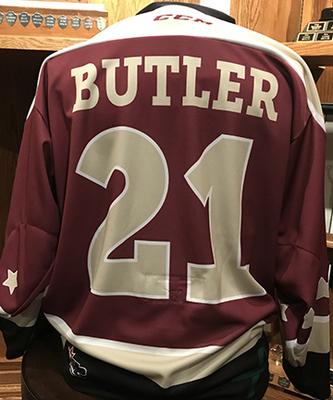 Cam Butler (#21) - Game-Worn Petes Alumni Homecoming Jersey